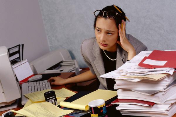 İş stresi sorunu
