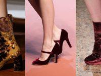 Kadife Ayakkabılar Şık ve Riskli Parçalardır
