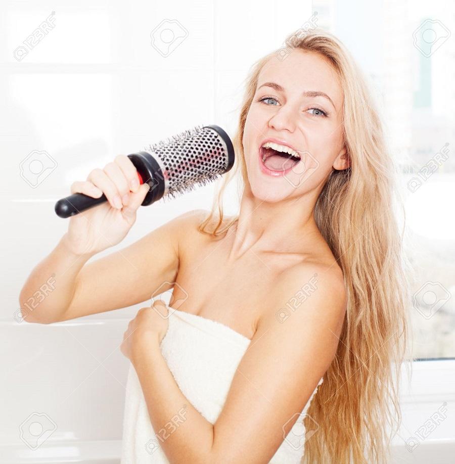 banyoda şarkı söylemek