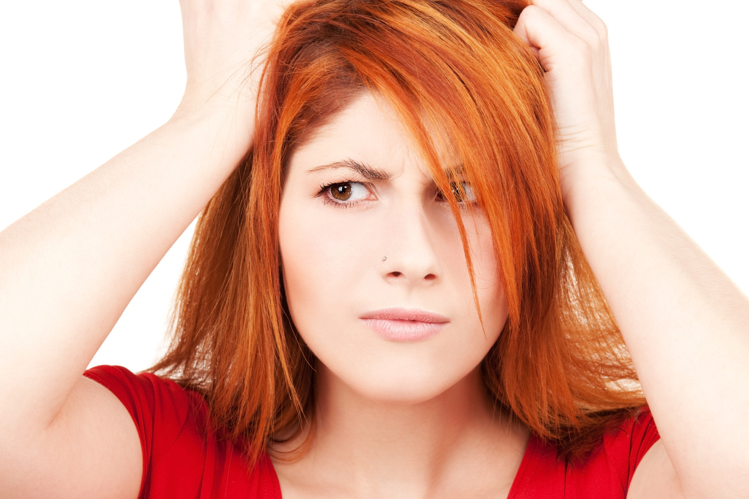 Yağlı Saçlara Bitkisel Çözüm