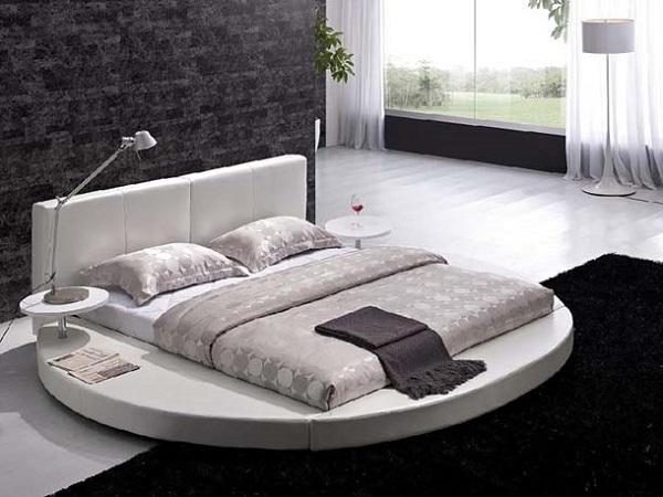 Yuvarlak Yatak Odası